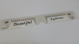 LINER RULER for MICROBLADING AND PERMANENT COSMETICS
