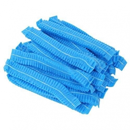 Protection Head Caps Pack Non Woven 100pcs