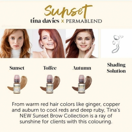 PERMA BLEND TINA DAVIES Sunset 15ml