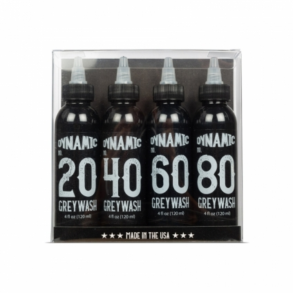 DYNAMIC Greywash SET 4x120ml
