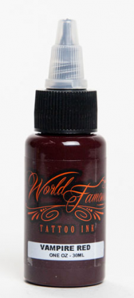 VAMPIRE RED 30ML WORLD FAMOUS TATTOO INK