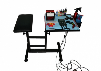 TATTOO TABLE with ARM REST