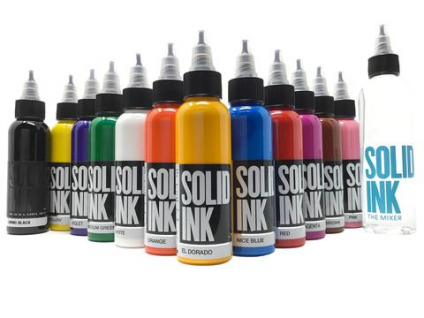 WHITE 30ML SOLID INK