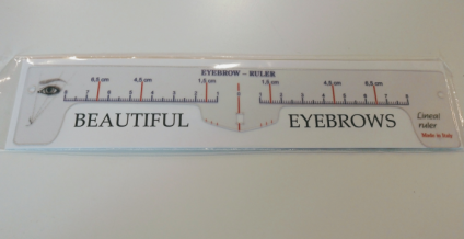 RULER BEAUTIFUL EYEBROW for MICROBLADING AND PERMANENT COSMETICS
