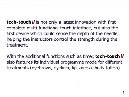 TECH TOUCH II