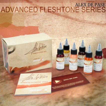 ALEX DE PASE SET 6x30ml by INTENZE