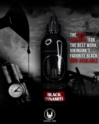 VIKING INK Black Dynamite 1oz 9oz 30ML 270ML