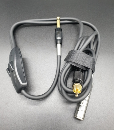 DOUBLE CONNECTOR with RCA and EXTESION JACK CABLE