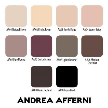 DARK CHESTNUT 30ml ANDREA AFFERNI SET by ETERNAL