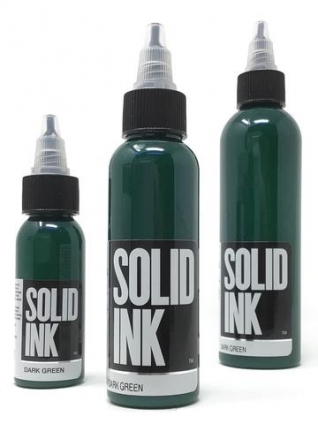 DARK GREEN 15ml by SOLID INK