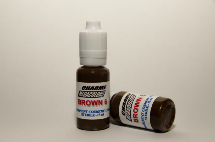 BROWN 6 by CHARME MEGACOLORS: EYEBROWS