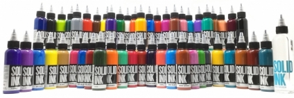 SOLID INK set DELUXE 50 colors 30ml + The Mixer 60ml