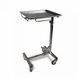 Steel Table with wheels