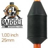 BARREL DISPOSABLE TUBES 3 RT BOX 10PCS