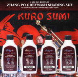ZHANG PO SHADING SET by KURO SUMI 4 x 180 ml