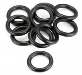 O RINGS BLACK COLOR 8 PCS