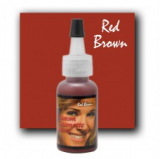 RED BROWN by CUSTOM COSMETIC COLOR X 7,5 ML