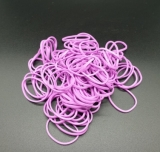 RUBBER BAND for TATTOO pack 200 pcs Electric Colors
