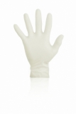 GLOVES Latex Klinion Chlorinated White Box 100PCS