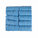 Protection BED COVER BLUE ELASTIC 10pcs Pack