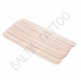 WOOD SPATULA x 100PCS