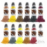 DEBORA CHERRY MUSAS SET 12x30ml by WORLD FAMOUS TATTOO INK