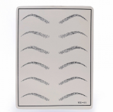 SINTHETIC SKIN EYEBROW STENCIL