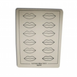SINTHETIC SKIN LIP STENCIL 1PC